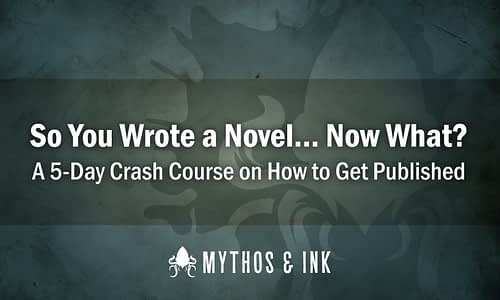 So You Wrote a Novel… Now What?